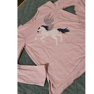 ギャップ(GAP)のGAP☆ユニコーン長袖Tシャツ☆130(Tシャツ/カットソー)