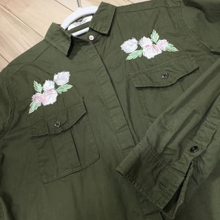 しまむら - 刺繍 シャツ