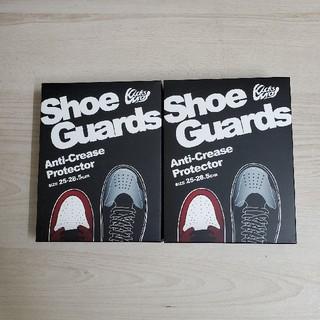 アンディフィーテッド(UNDEFEATED)のシューガード shoe guards 2つセット kickswrap(その他)