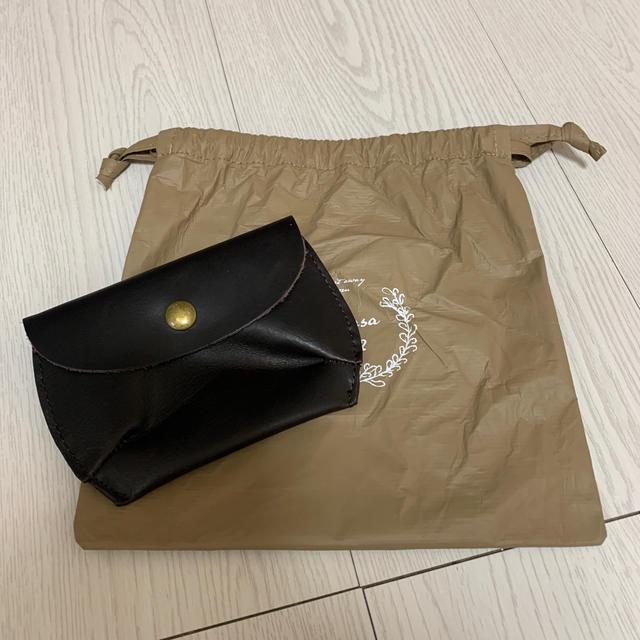 SM2(サマンサモスモス)のSM2  ノベルティー 本革ウォレット エンタメ/ホビーのコレクション(ノベルティグッズ)の商品写真