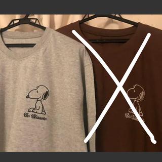 スヌーピー(SNOOPY)のスヌーピー ロンT ゆったりサイズ SNOOPY(Tシャツ(長袖/七分))