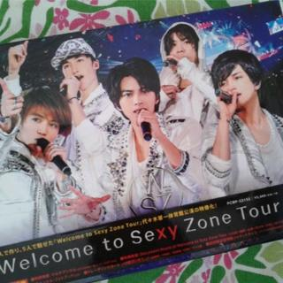 セクシー ゾーン(Sexy Zone)のWelcome to Sexy Zone Tour DVD(初回限定盤)(アイドル)