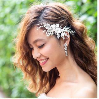 ヴェラウォン(Vera Wang)のjust married ヘッドドレス(ヘッドドレス/ドレス)