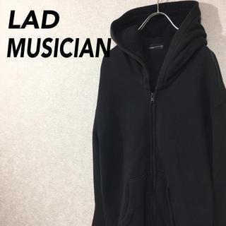 ラッドミュージシャン(LAD MUSICIAN)のラッドミュージシャン パーカー デザインフード フルジップ 無地 (パーカー)