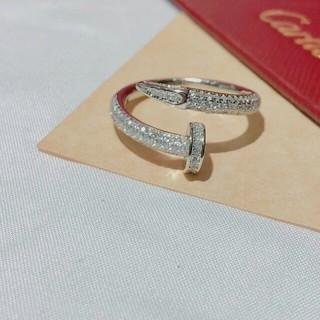 カルティエ(Cartier)の素敵❤️Cartierカルティエ リング 指輪 レディース 6号(リング(指輪))