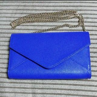バーニーズニューヨーク(BARNEYS NEW YORK)のクロスボディバッグ チェーン付レザーウォレット 財布(財布)
