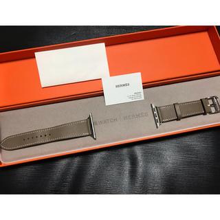 アップルウォッチ(Apple Watch)の希少 エルメス アップルウォッチ エトゥープ 40mm(腕時計)