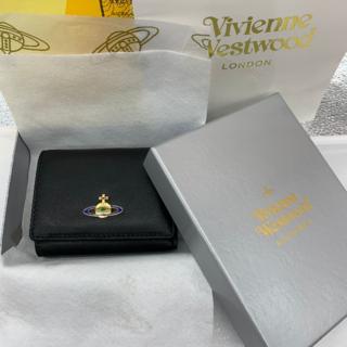 ヴィヴィアンウエストウッド(Vivienne Westwood)の新品! Westwoodヴィヴィアンウエストウッド三つ折り財布 ブラック(財布)