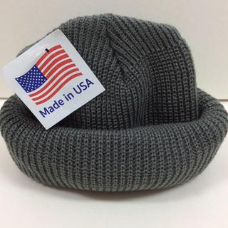 ロスコ(ROTHCO)のROTHCO knitcap グレー ロスコニット帽 GRY(ニット帽/ビーニー)