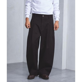 COMOLI - STUDIO NICHOLSON BRIDGES PANT brown M