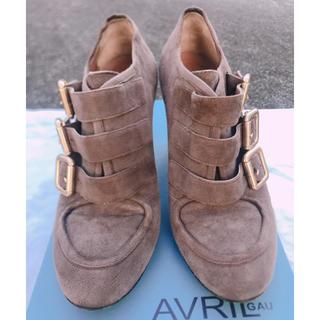 アヴリルガウ(AVRIL GAU)のAVRIL GAU アンクルブーツ(ブーツ)