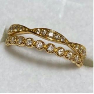JEWELRY TSUTSUMI - 新品 ジュエリーツツミ K18ダイヤモンドリング