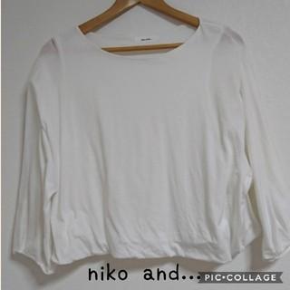ニコアンド(niko and...)のnikoand ラグランシャツ(シャツ/ブラウス(長袖/七分))