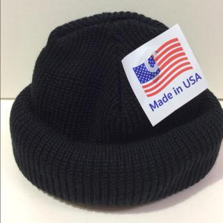 ロスコ(ROTHCO)のROTHCO knitcap BLK ニット帽 ブラック(ニット帽/ビーニー)