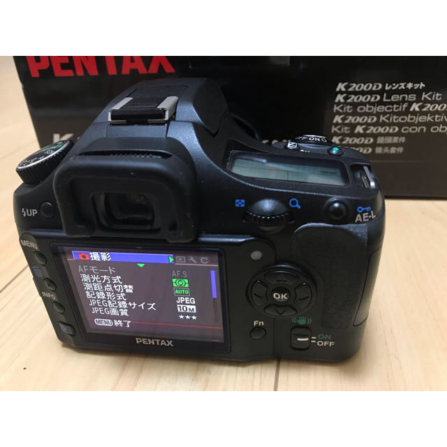 PENTAX(ペンタックス)のPENTAX K200D 本体・レンズ セット スマホ/家電/カメラのカメラ(デジタル一眼)の商品写真