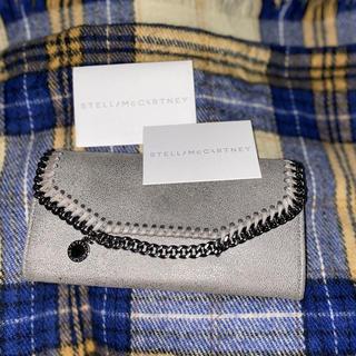 ステラマッカートニー(Stella McCartney)のステラマッカートニー フェラベラ 長財布 グレー 美品(財布)
