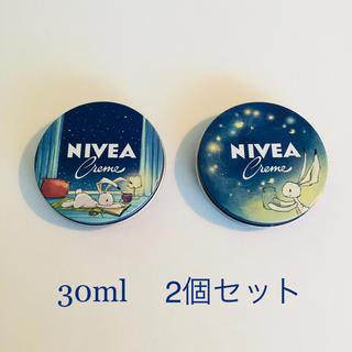 ニベア(ニベア)の◇2019年限定デザイン◇30ml×2個セット NIVEAニベアクリーム 青缶(ボディクリーム)