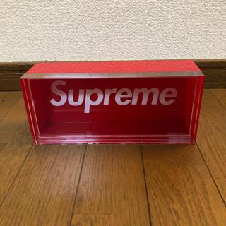 シュプリーム(Supreme)の16aw Supreme Lucite Box アクリル製 ボックスストレージ(小物入れ)