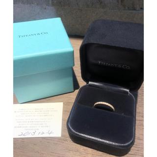 ティファニー(Tiffany & Co.)のティファニー  リング  ソレスト ピンクゴールド ダイア 10号(リング(指輪))
