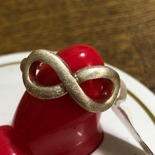スペインで購入 エイト 無限 ♾ デザイン リング 新品未使用(リング(指輪))