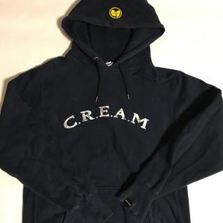 アップルバム(APPLEBUM)のapplebum×wuwear cream パーカー L(パーカー)