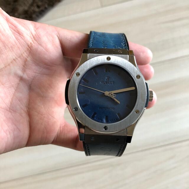 モンブラン 時計 スーパーコピー2ちゃん / Berluti - ウブロ×ベルルッティ クラシックフュージョンの通販 by わー's shop