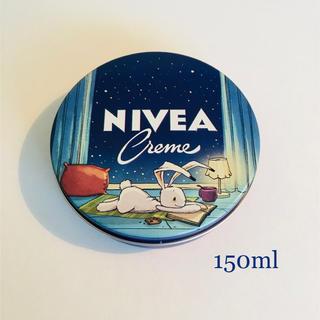 ニベア(ニベア)の2019年限定デザイン☆NIVEAニベアクリーム150ml 青缶(ボディクリーム)