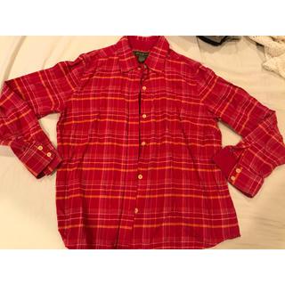 エディーバウアー(Eddie Bauer)の美品 エディーバウアー  厚手コットンシャツ Mサイズ(シャツ/ブラウス(長袖/七分))