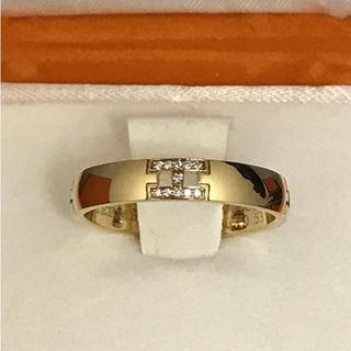 Hermes - エルメス ダイヤ11P ヘラクレス リング 52 WG 指輪 ゴールド