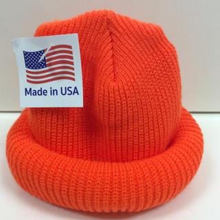 ロスコ(ROTHCO)のROTHCO ニット帽 オレンジ クルクルビーニー  (ニット帽/ビーニー)