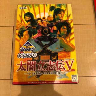 コーエーテクモゲームス(Koei Tecmo Games)の太閤立志伝Ⅴ PC版(PCゲームソフト)