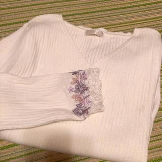 Rirandture - 袖口刺繍ニット