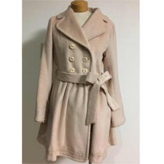 リズリサ(LIZ LISA)の美品 リズリサ ウエストギャザー入りコート(ロングコート)