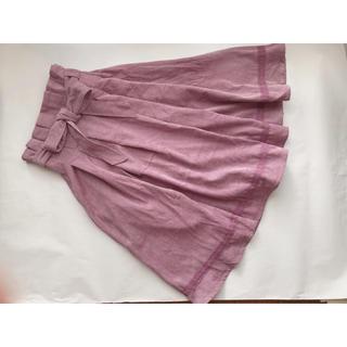 axes femme - アクシーズファム♪コーデュロイふんわりスカート