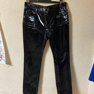JOHN LAWRENCE SULLIVAN - サリバン 19aw COATED COTTON SWITCHING PANTS