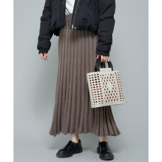 Ciaopanic - ciaopanic ニットプリーツスカート