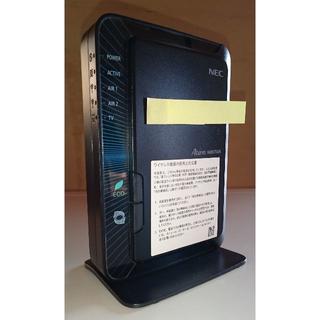 エヌイーシー(NEC)の無線ルーター Aterm WR8750N(PC周辺機器)