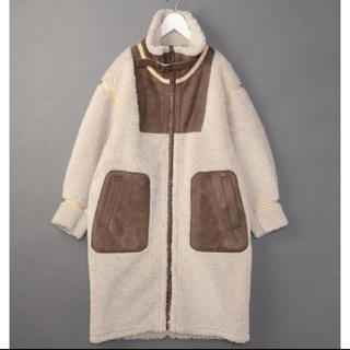 BEAUTY&YOUTH UNITED ARROWS - 6(ROKU) FAKE MOUTON COAT/コート