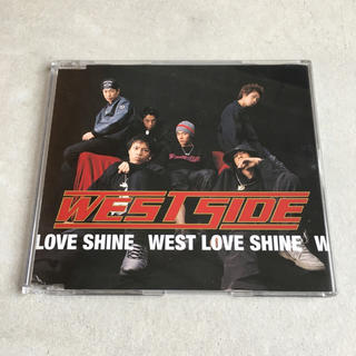 WEST SIDE『WEST LOVE SHINE』CD(ポップス/ロック(邦楽))