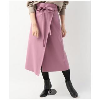 プラージュ(Plage)のplage プラージュ COMPRESSIONラップスカート(ひざ丈スカート)