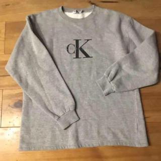 Calvin Klein - Calvin'Klein  ロゴスウェット 裏毛 カルバンクライン