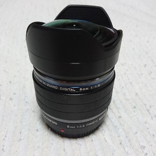 OLYMPUS - M.ZUIKO DIGITAL ED 8mm F1.8 Fisheye PRO