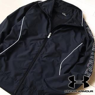 アンダーアーマー(UNDER ARMOUR)の超美品 Mサイズ アンダーアーマー レディース ジップジャケット ブラック(その他)