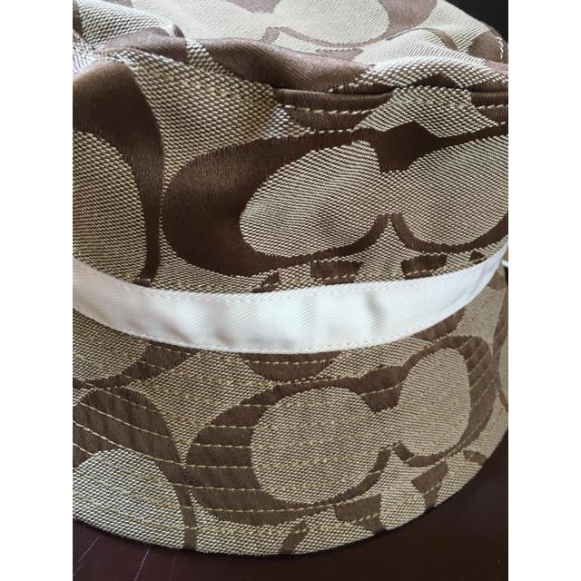 COACH(コーチ)の値下げ〈美品〉COACH  ハット  帽子 レディースの帽子(ハット)の商品写真