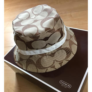 COACH - 値下げ〈美品〉COACH  ハット  帽子