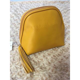 セシルマクビー(CECIL McBEE)の新品 CECIL McBEE タッセル付きポーチ/化粧ポーチ(ポーチ)