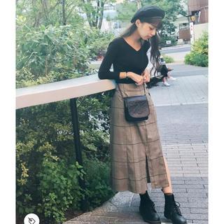 ムルーア(MURUA)のMURUA ラップレイヤードスカート(ロングスカート)