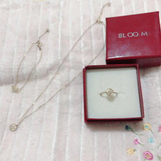 ブルーム(BLOOM)のbloom ネックレス・ブレスレット ・リング 感謝SALE🈹(リング(指輪))