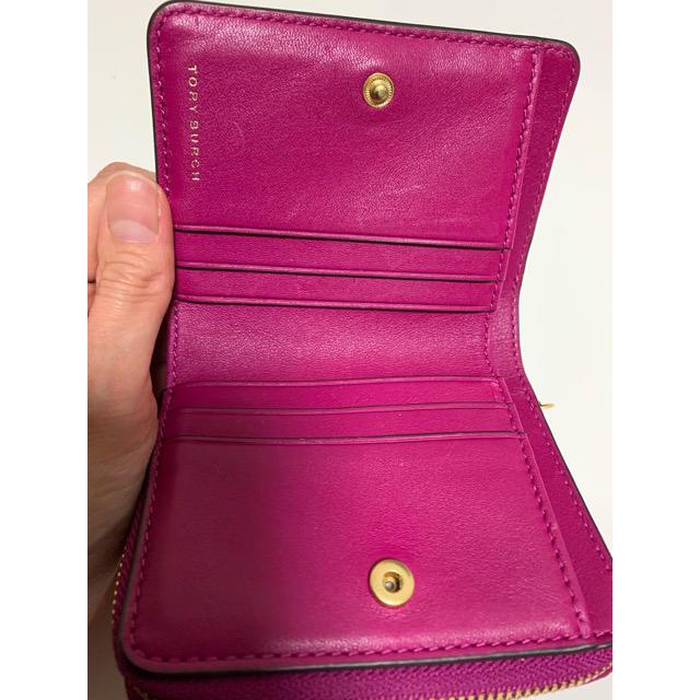 Tory Burch(トリーバーチ)のなっちゃん様専用 TORY BURCH 二つ折り財布 レディースのファッション小物(財布)の商品写真