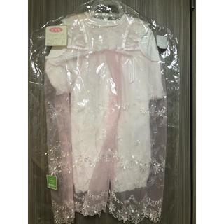 ニシマツヤ(西松屋)のベビー ドレス お宮参り 50cm-60cm(お宮参り用品)
